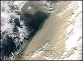 Saharan Dust over Italy