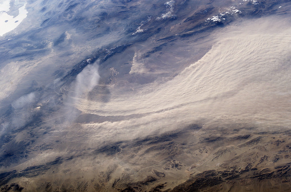 Major Dust Storm East of Bam, Iran - related image preview