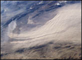 Major Dust Storm East of Bam, Iran - selected image