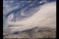 Major Dust Storm East of Bam, Iran