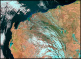 Floods in Northwestern Australia