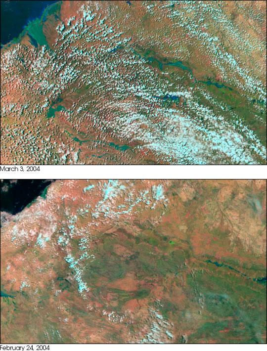 Floods in Northwestern Australia