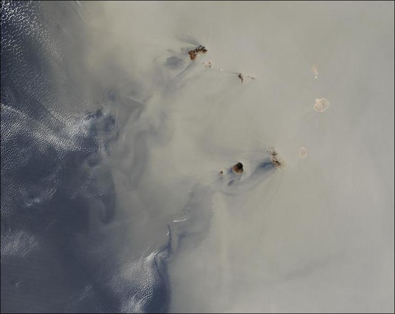 Dust over Cape Verde Islands