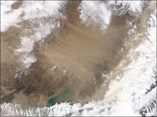 Severe Sandstorm in Northeast China