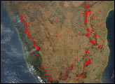 Late Winter Fires Across India