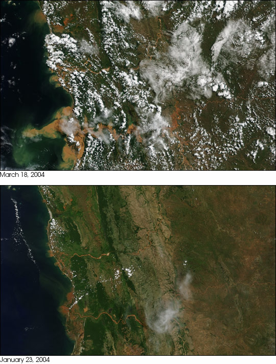 Flooding in Madagascar
