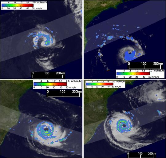 Rare South Atlantic Tropical Cyclone