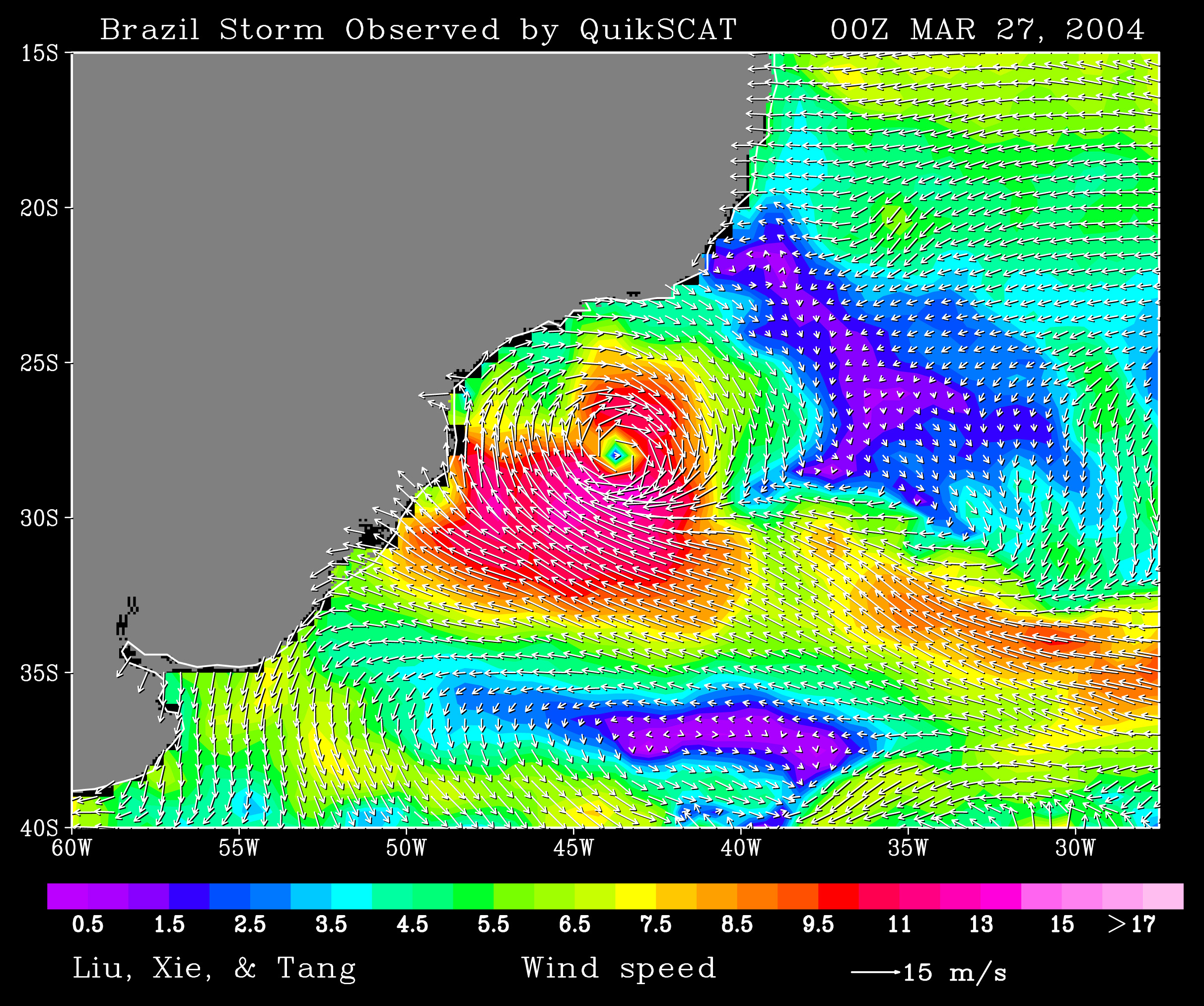 Rare South Atlantic Tropical Cyclone - related image preview