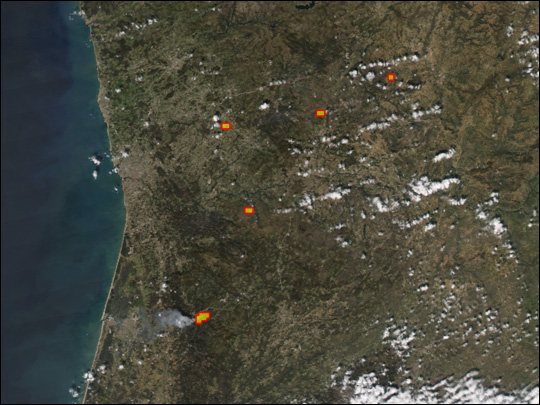 Fires in Portugal - related image preview