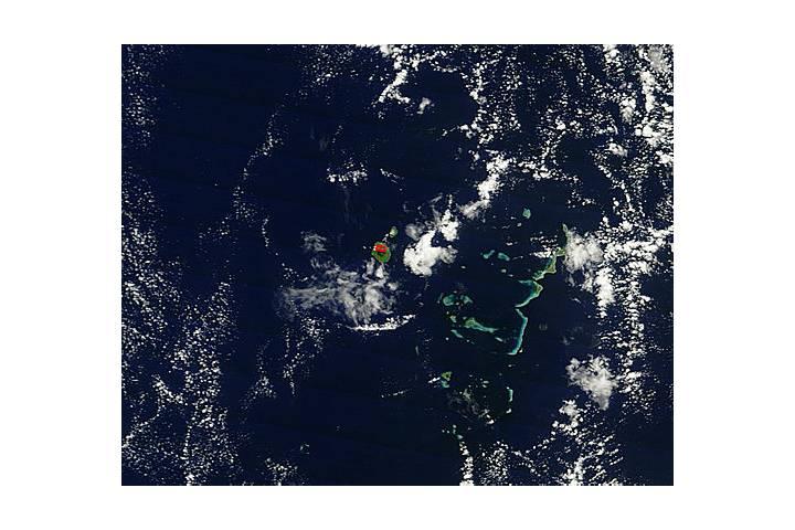 Tofua Volcano, Tonga Islands, South Pacific Ocean - selected image