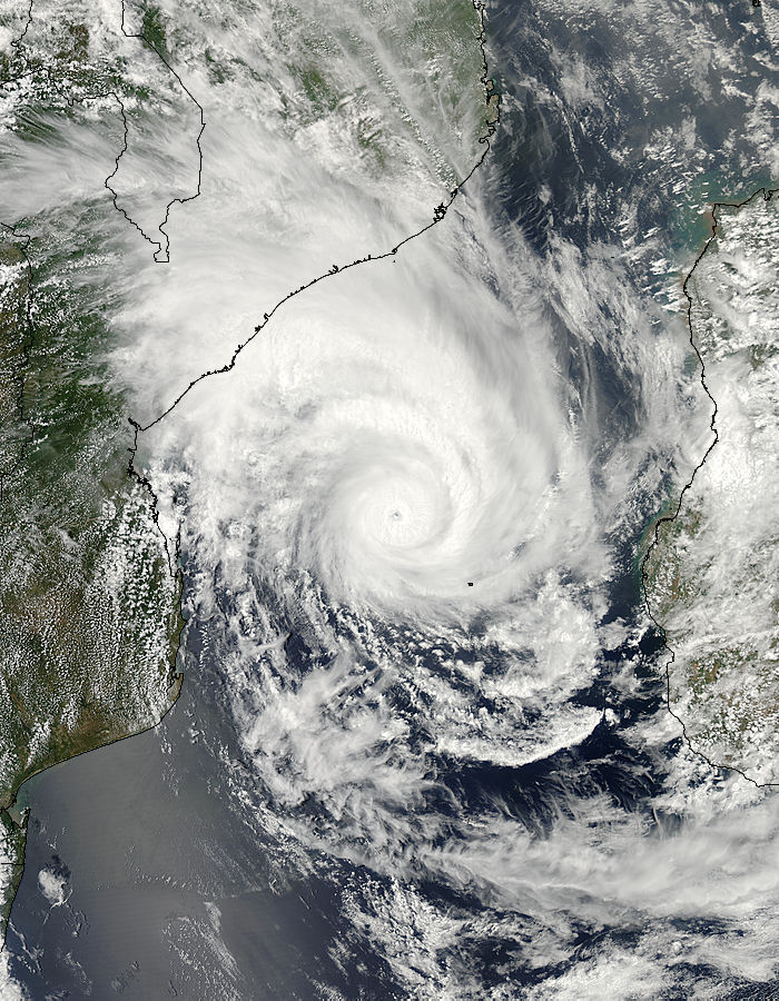 Tropical Cyclone Funso (08S) over the Mozambique Channel - related image preview