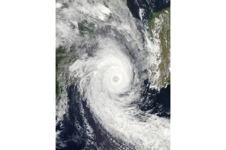 Tropical Cyclone Funso (08S) over the Mozambique Channel - selected image