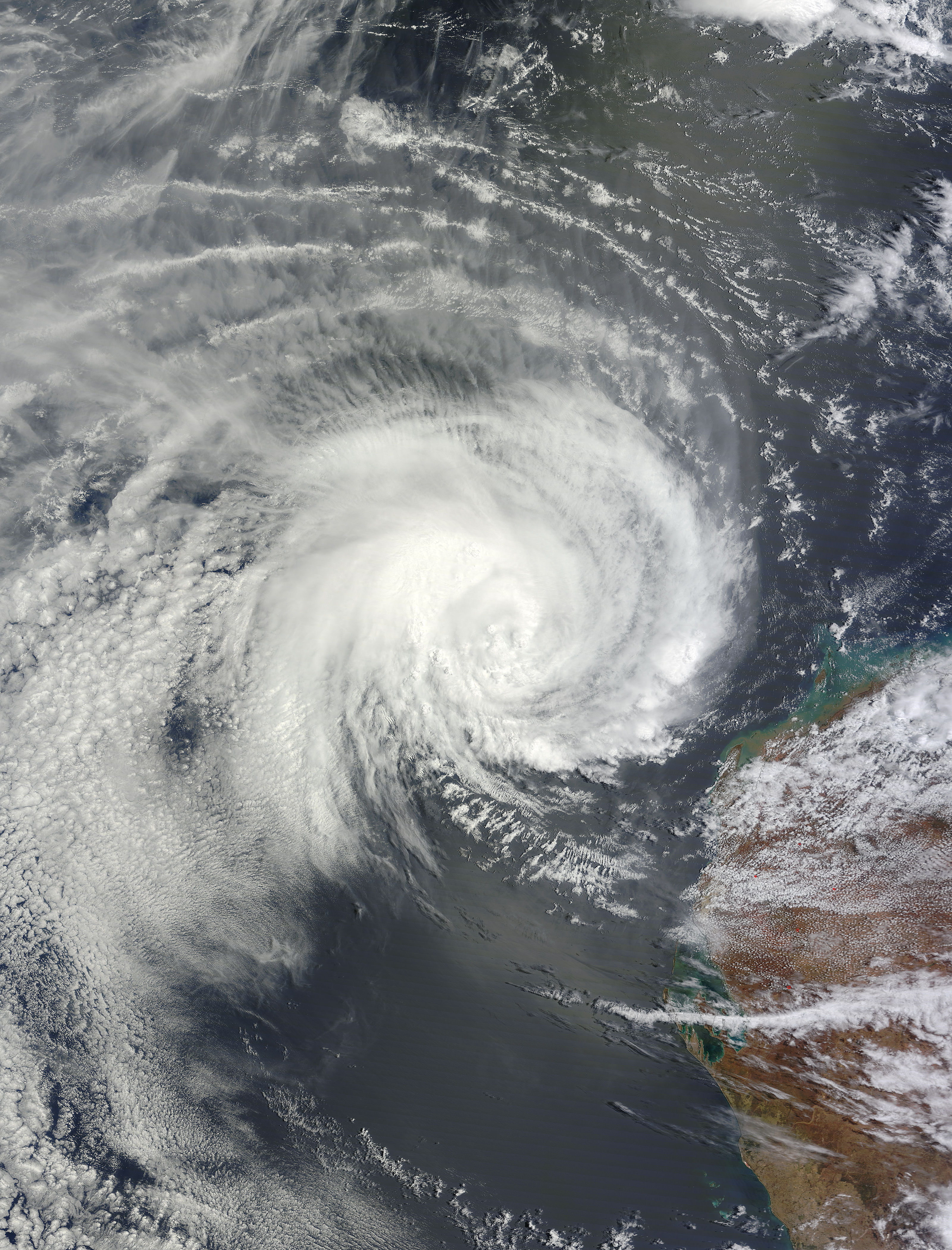 Tropical Cyclone Iggy (09S) off Australia - related image preview