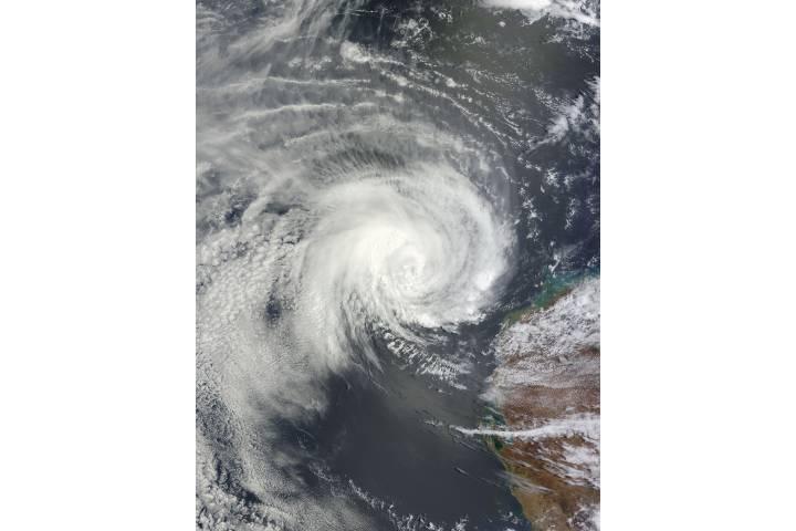 Tropical Cyclone Iggy (09S) off Australia - selected image