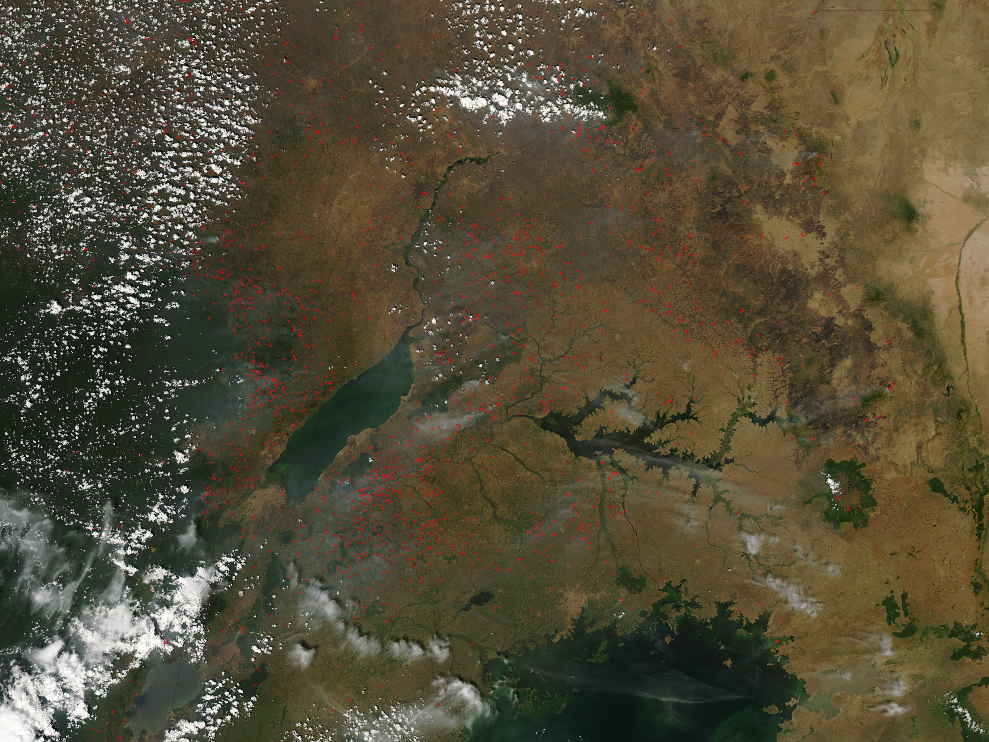 Fires in eastern Africa - related image preview