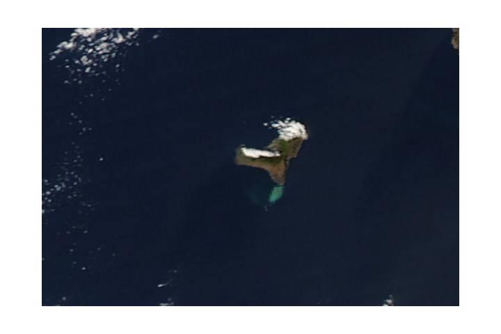 Submarine eruptions off El Hierro, Canary Islands - selected image
