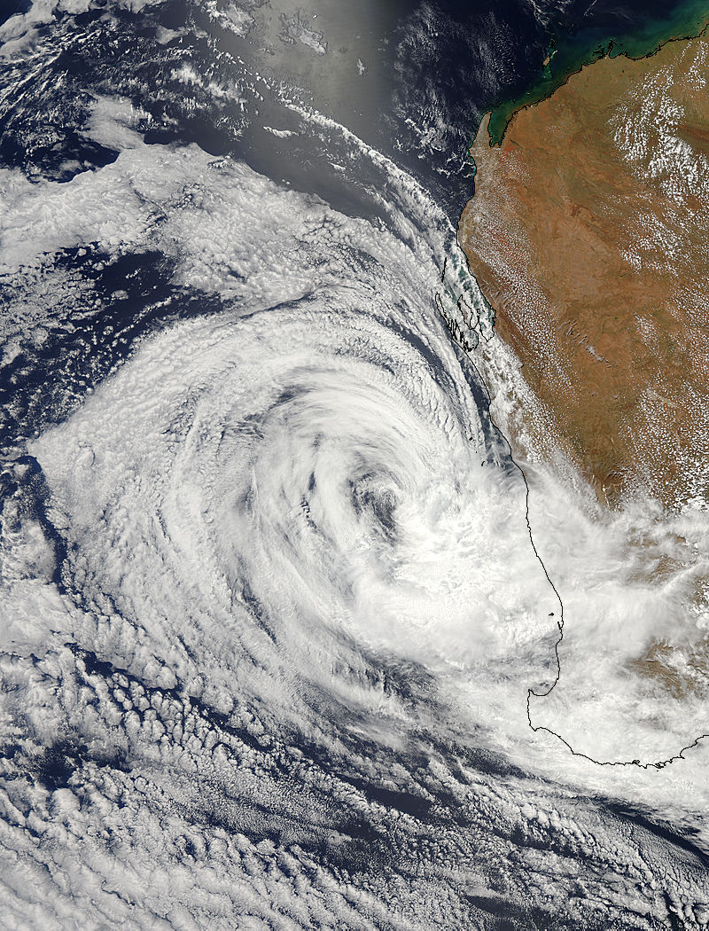 Tropical Cyclone Iggy (09S) approaching Australia - related image preview