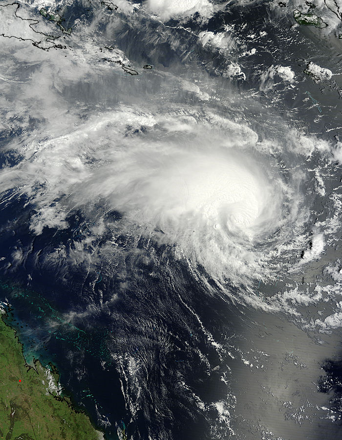 Tropical Cyclone Jasmine (10P) off Australia - related image preview