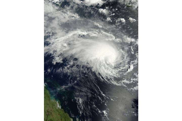 Tropical Cyclone Jasmine (10P) off Australia - selected image
