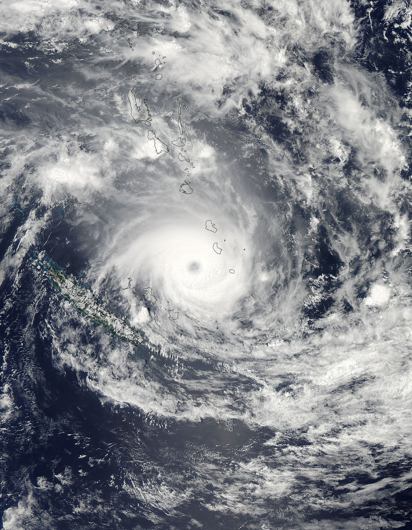 Tropical Cyclone Jasmine (10P) over Vanuatu and New Caledonia - related image preview