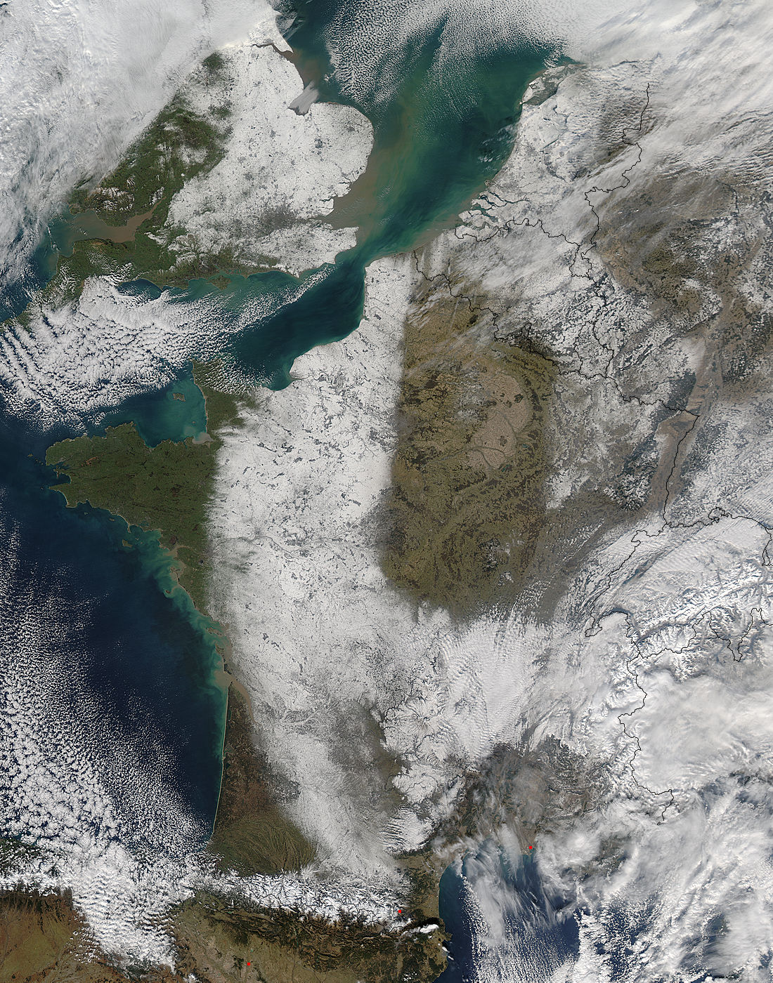Snow in western Europe - related image preview