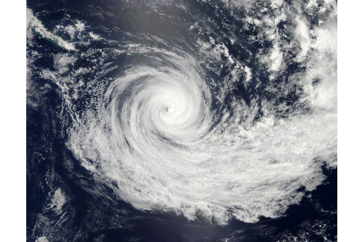 Tropical Cyclone Jasmine (10P) in the southern Pacific Ocean - selected image