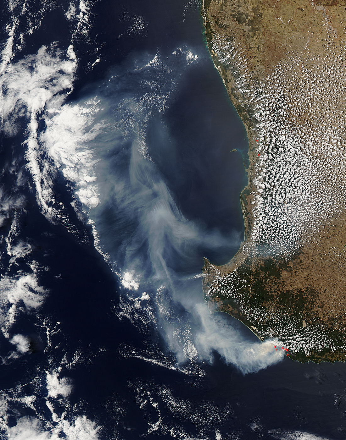 Smoke and fires in southwest Australia - related image preview