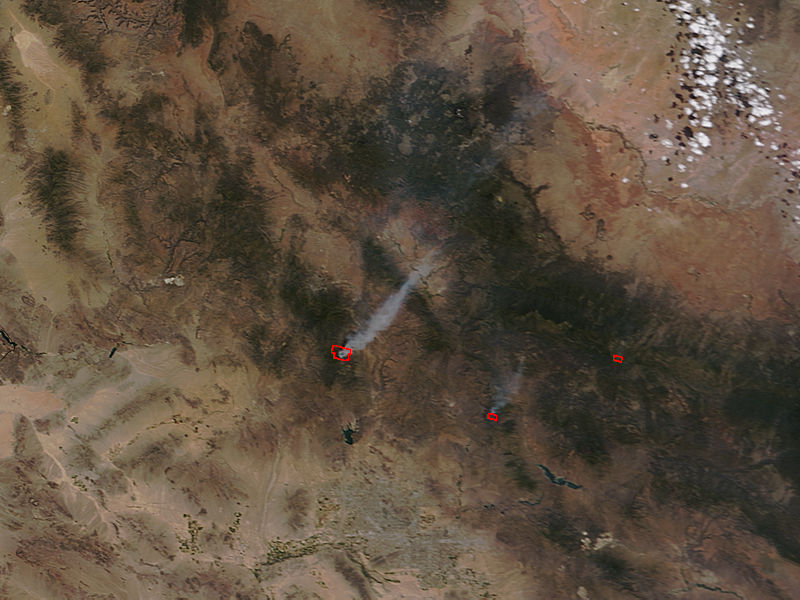 Wildfires in Arizona - related image preview