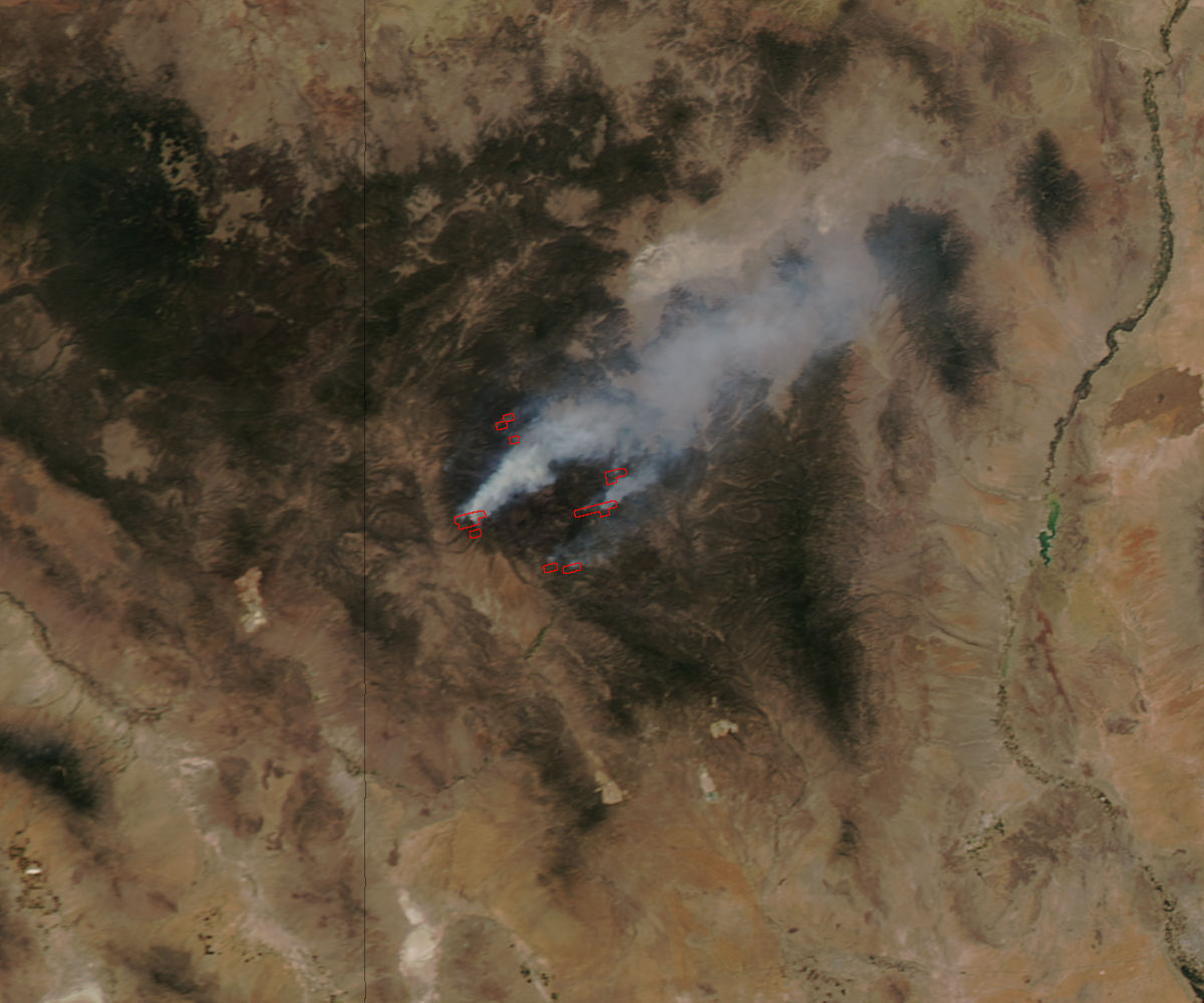 Whitewater-Baldy fire, New Mexico - related image preview