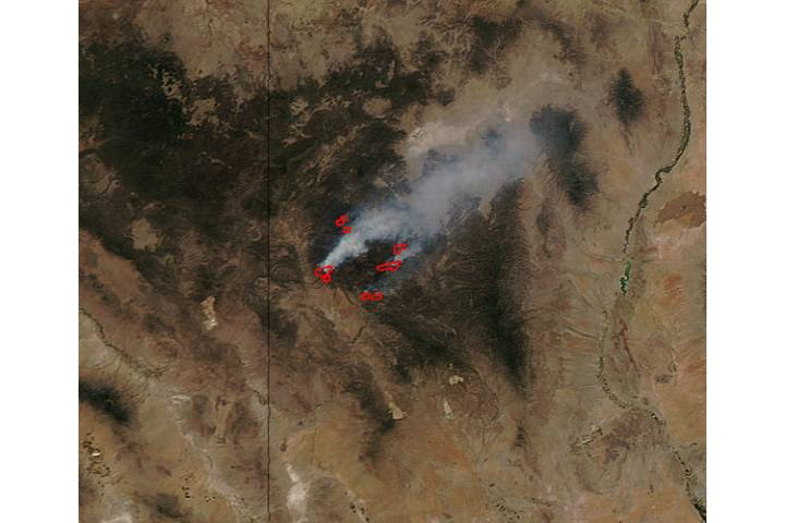 Whitewater-Baldy fire, New Mexico - selected image