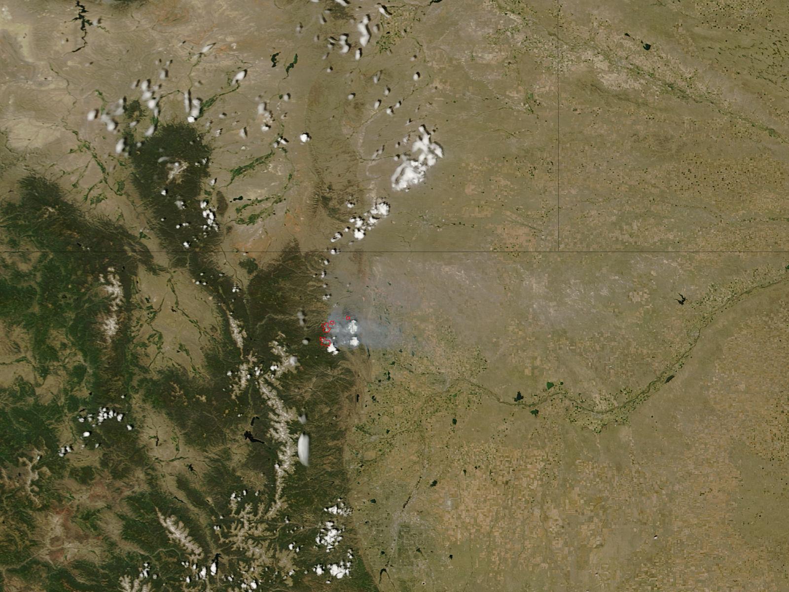 High Park Fire, Colorado - related image preview