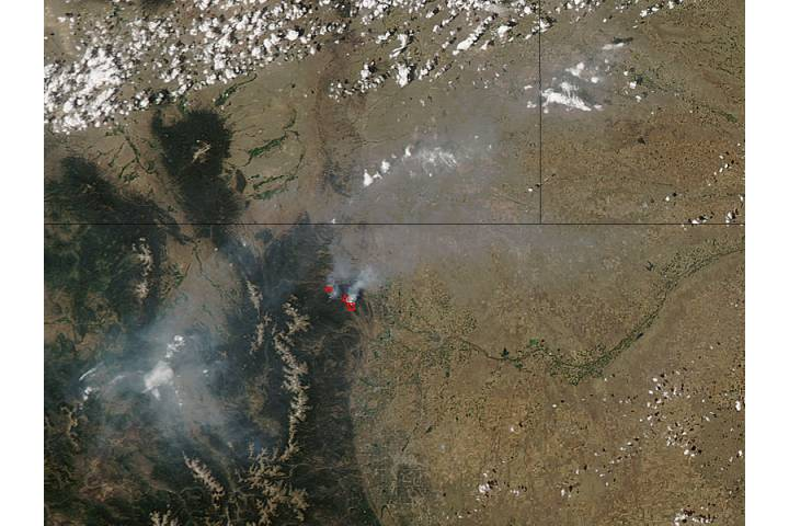 High Park Fire, Colorado (afternoon overpass) - selected image
