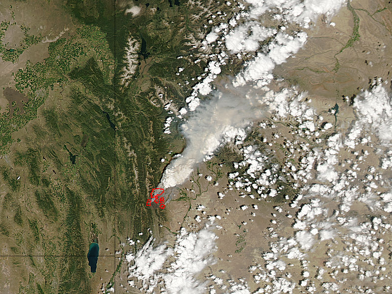 Fontenelle Fire, Wyoming - related image preview