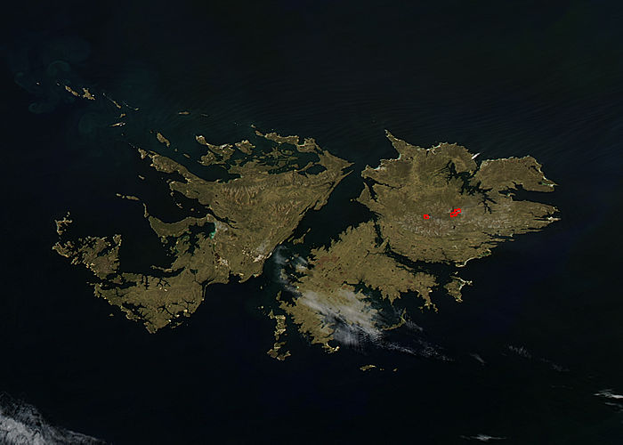 Fires in the Falkland Islands - related image preview