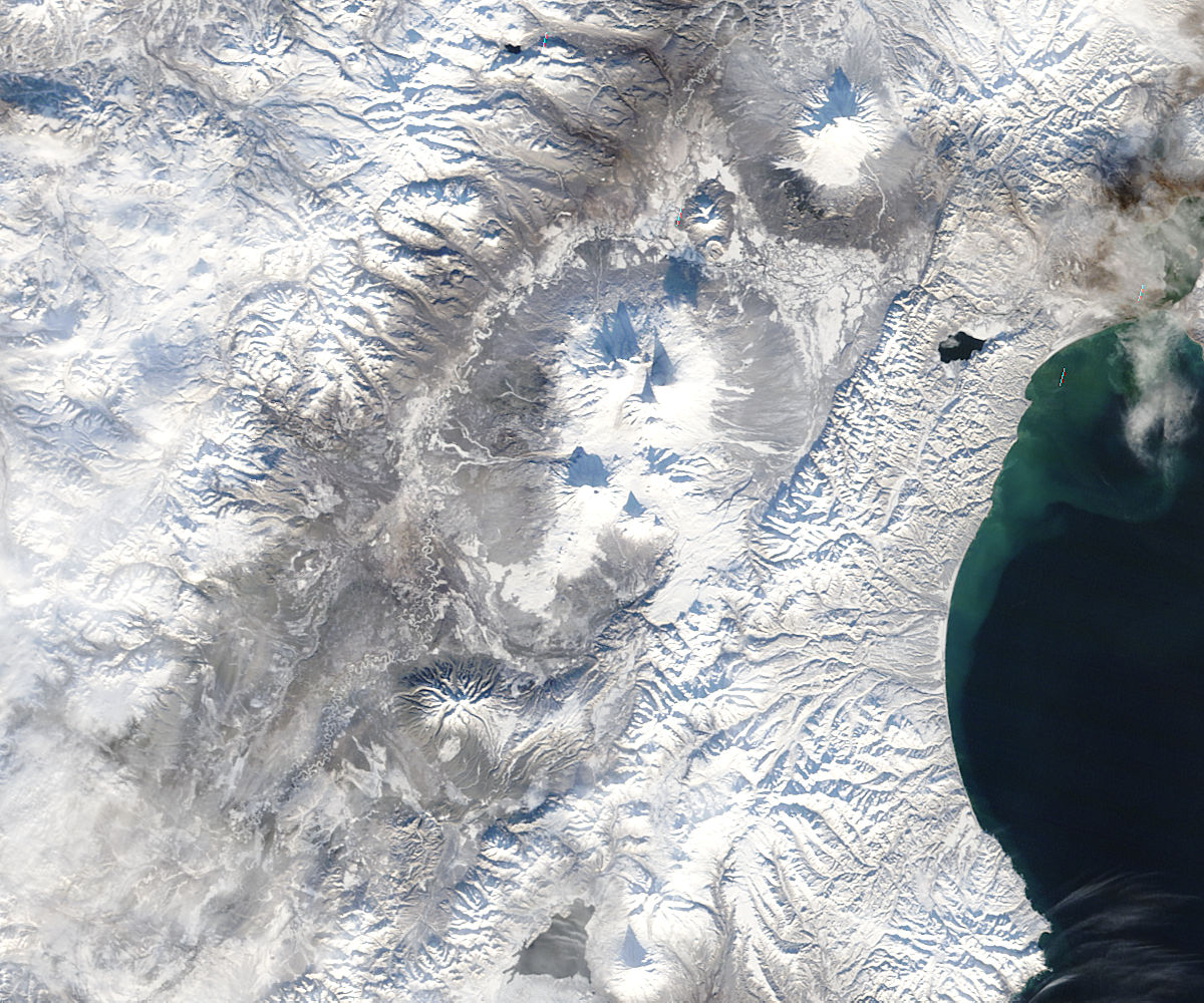 Plosky Tolbachik before eruption, Kamchatka Peninsula, eastern Russia - related image preview