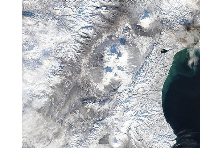 Plosky Tolbachik before eruption, Kamchatka Peninsula, eastern Russia - selected image