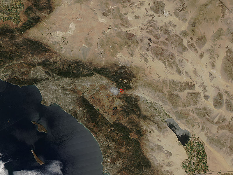 Summit Fire, California - related image preview
