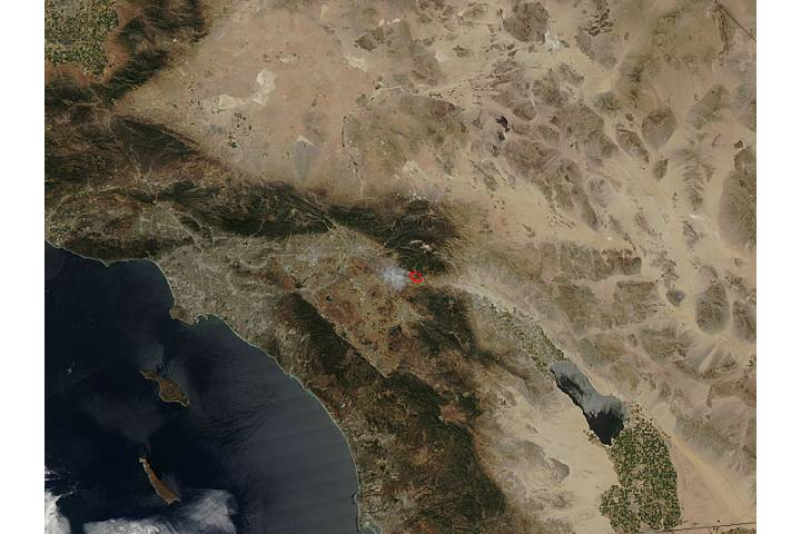 Summit Fire, California - selected image