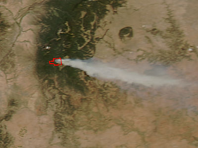 Tres Lagunas Fire, New Mexico - related image preview