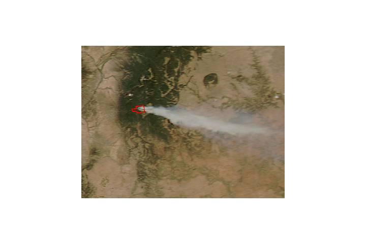 Tres Lagunas Fire, New Mexico - selected image