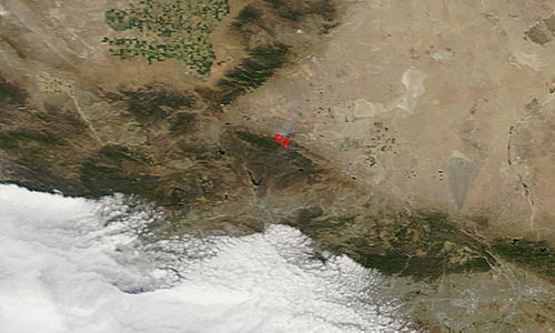 Powerhouse Fire, southern California - related image preview