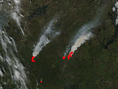 Fires in northern Saskatchewan - related image preview