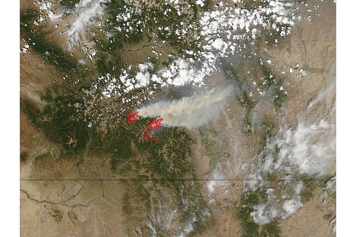 Fires in Colorado - selected image