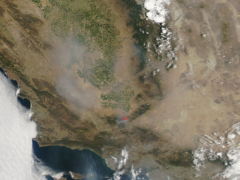 Fires and smoke in southern California - related image preview
