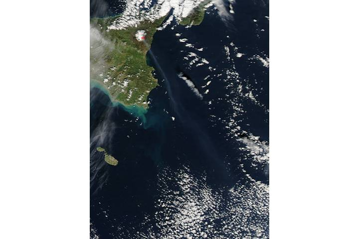 Activity at Mt. Etna in Sicily - selected image