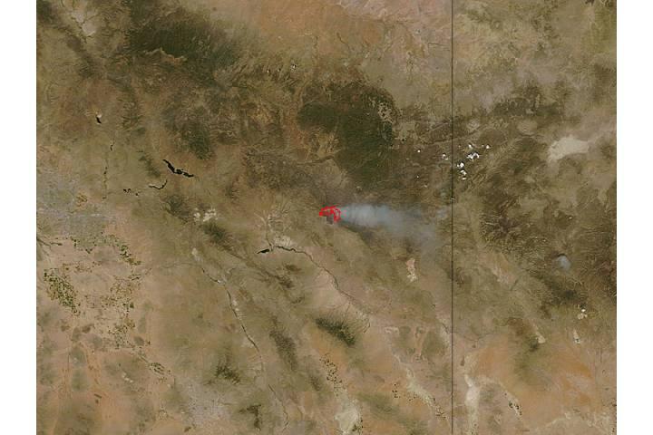 Skunk Fire, Arizona - selected image