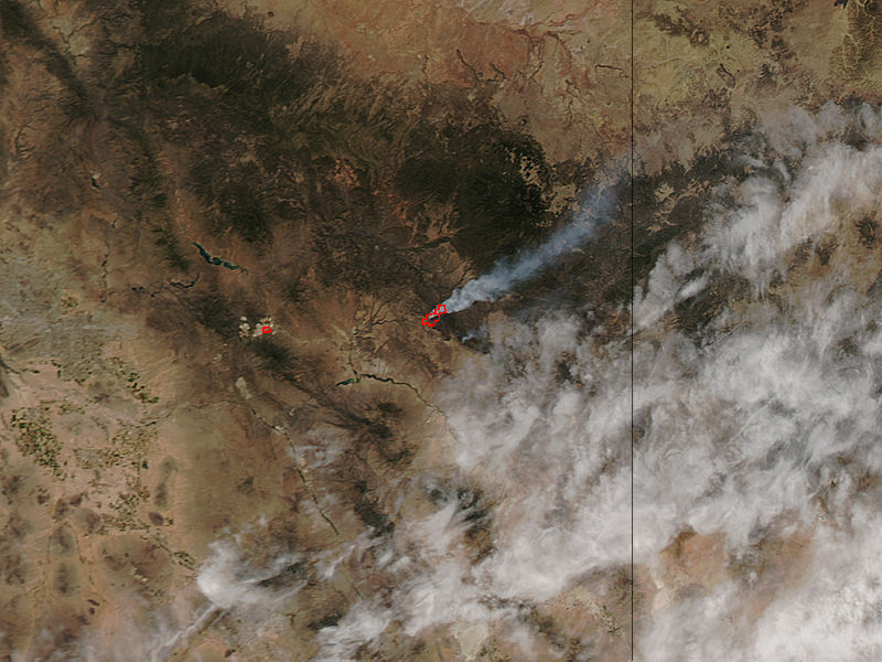 Skunk Fire, Arizona - related image preview