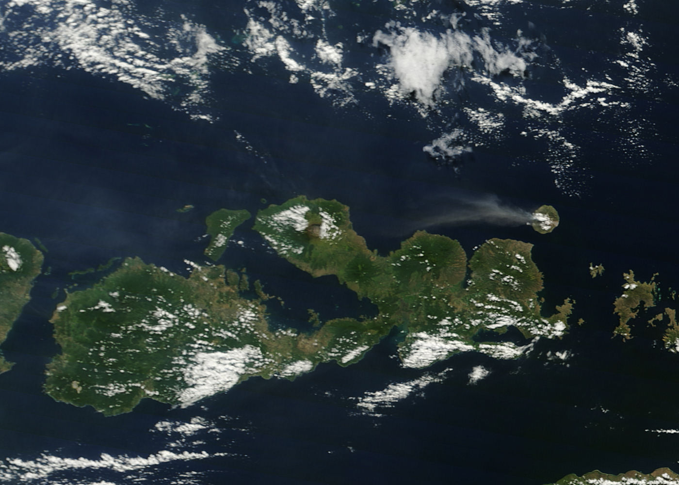 Plume from Sangeang Api, Lesser Sunda Islands, Indonesia - related image preview