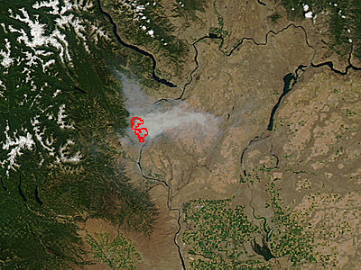 Mills Canyon Fire, Washington - related image preview