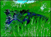 Severe Storms Trigger Floods in Bangladesh